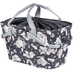 Basil Magnolia Rear Wheel Design Basket 22l, with MIK adapter plate, pastel powders